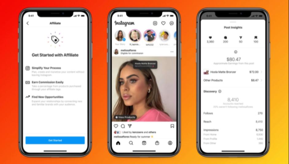 Nieuwe Instagram affiliate en shopping features voor creators